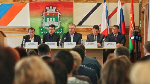 Сергей Аксёнов поручил отработать действия на случай возникновения внештатных ситуаций в Армянске