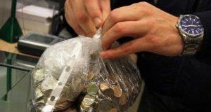 Более полумиллиона рублей мелочью сдали севастопольцы в коммерческие банки
