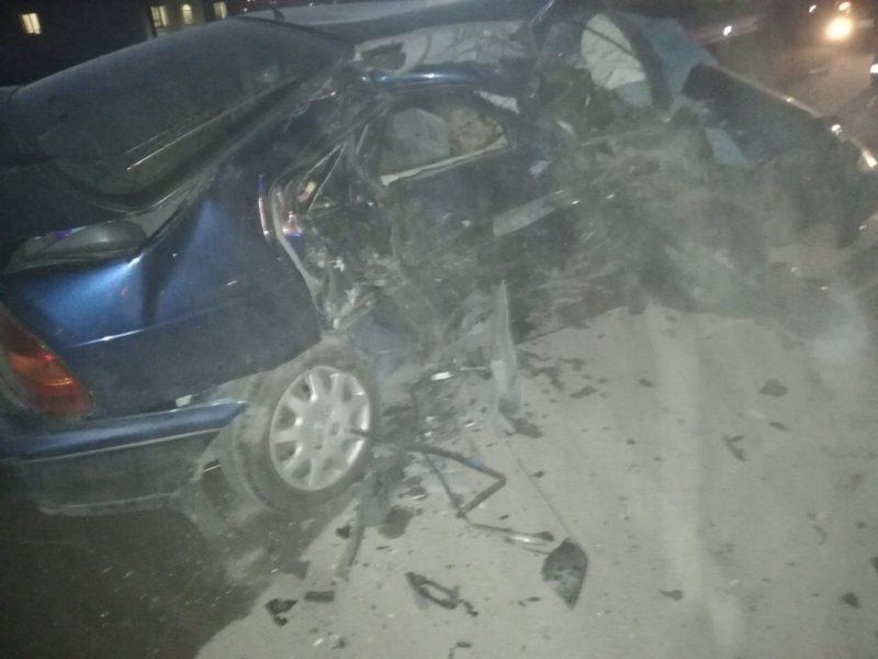 Вечернее ДТП на Ялтинской объездной в Симферополе. Предварительно: один человек погиб