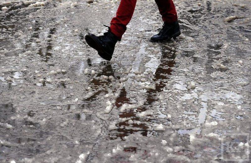 Погода в Крыму: небольшие осадки и гололедица