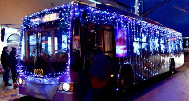Симферопольцы в новогоднюю ночь без транспорта не останутся