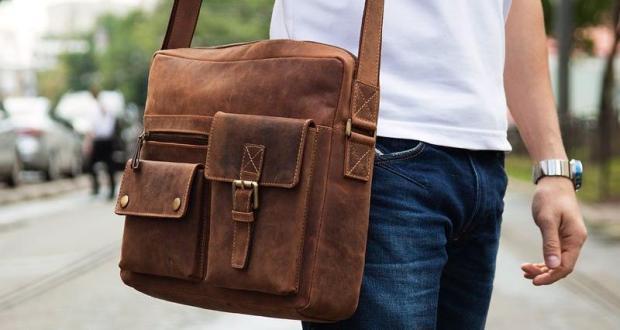 Кожаные мужские сумки. Правила выбора при покупке