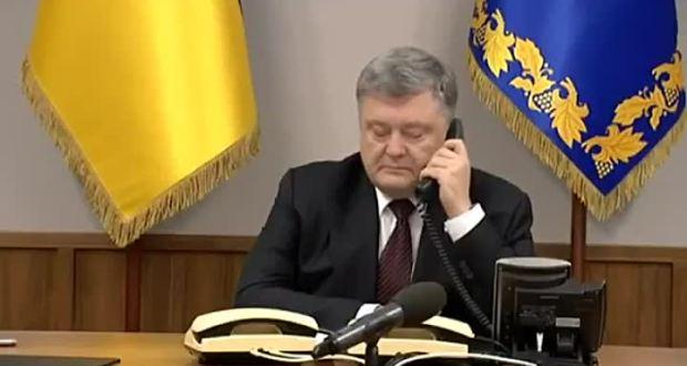 Путин не хочет разговаривать с Порошенко по телефону