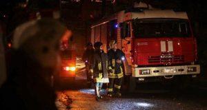 Непростая неделя крымских спасателей завершилась ночным пожаром в Евпатории