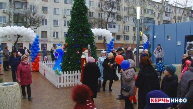 В Керчи открылся обновленный Комсомольский парк
