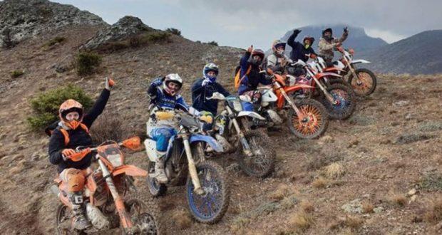 Симферопольские мотогонщики покорили гору Перчем