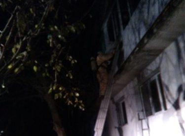 Под Феодосией ночью горел многоквартирный жилой дом. Эвакуированы 14 человек