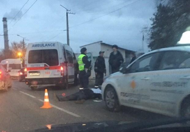 Смертельное ДТП в Севастополе. Микроавтобус сбил пешехода