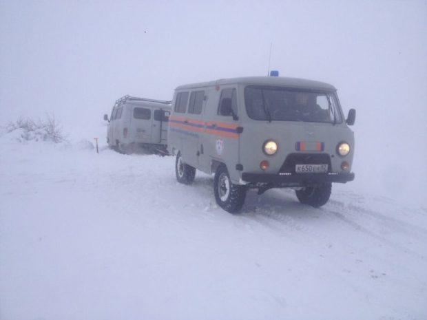 Крымские спасатели настоятельно рекомендует автолюбителям воздержаться от поездок в горы