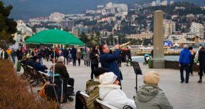 В Крыму на новогодние праздники уже отдохнули почти 70 тысяч туристов