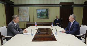 Сергей Аксёнов провёл встречу с врио Главы Республики Башкортостан Радием Хабировым