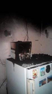 Крымские пожарные предотвратили возгорание в жилом доме в Кировском районе