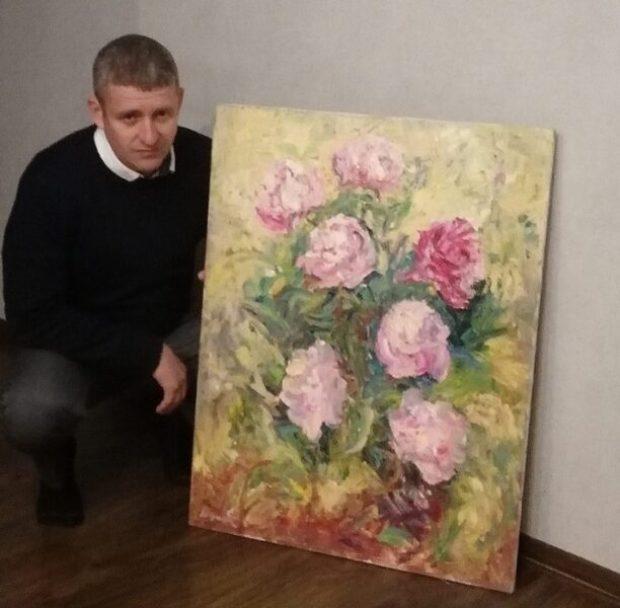 Балаклавский художник Александр Евтушок вернулся домой после операции на глазах