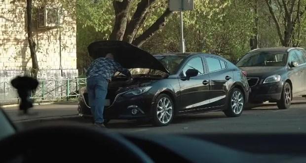 Сотрудники симферопольской Госавтоинспекции по горячим следам задержали угонщика автомобиля