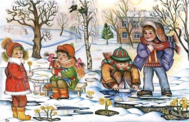 Весна идёт! Как подготовить ребёнка к тёплому периоду года?