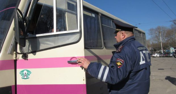 В Симферополе ГИБДД проверит общественный транспорт