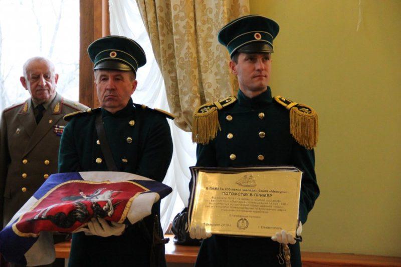 """В Севастополе отпраздновали 200-летие закладки брига """"Меркурий"""""""