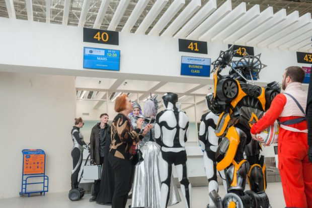 """Церемония открытия терминала аэропорта """"Симферополь"""" получила престижную премию bema"""
