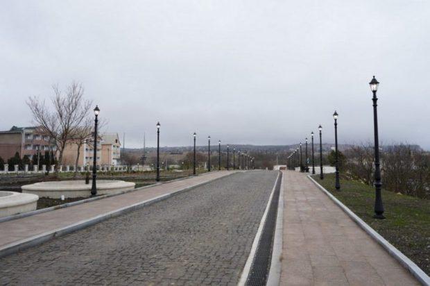 Сквер в районе мыса Фиолент, у монастыря Святого Георгия, открыт для посещения
