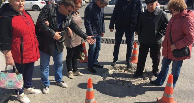 «Народный контроль» в действии. Севастопольский «Доброволец» - о ремонте дорог