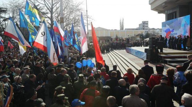 Русская весна в Крыму. Уже пятая