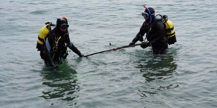 К началу курортного сезона все пляжи Крыма должны быть обследованы водолазами