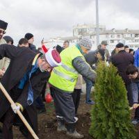 В Симферополе заложили парк «Крымская весна»