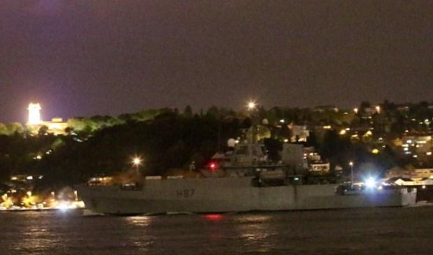 Разведывательный корабль HMS Echo ВМС Великобритании вошел в Черное море