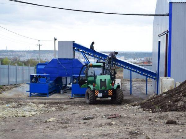 """Мусоросортировочный комплекс в Симферополе готовят к запуску. Час """"Ч"""" - май"""