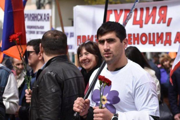 В Симферополе почтили память жертв геноцида армян