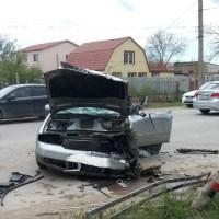 Смертельное ДТП в Саках, при столкновении с грузовиком погиб водитель «Audi»