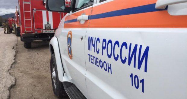 """В Севастополе - """"крупный лесной пожар"""". Идут учения МЧС"""