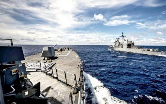 Скомканные учения НАТО и боевые ракетные стрельбы ЧФ в Черном море