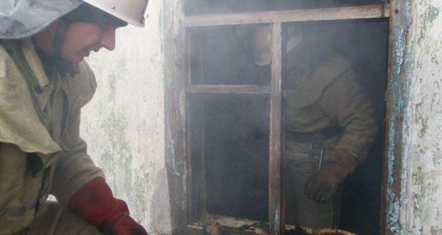 Пожар в селе Краснофлотское, в Советском районе Крыма унес три человеческие жизни