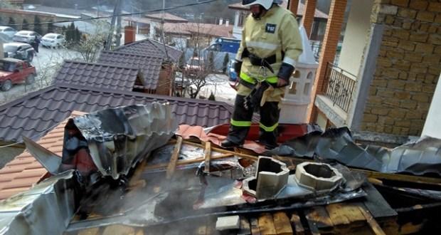 Воскресные пожары в Крыму - в Бахчисарайском районе и в пгт. Орджоникидзе