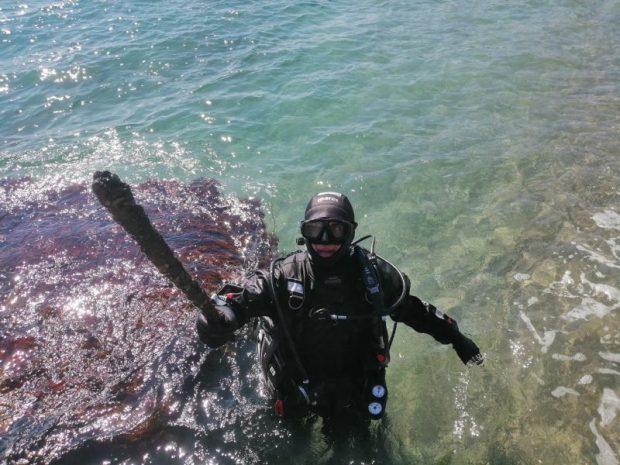 Примета приближающегося лета: «КРЫМ-СПАС» начал обследование акваторий пляжей