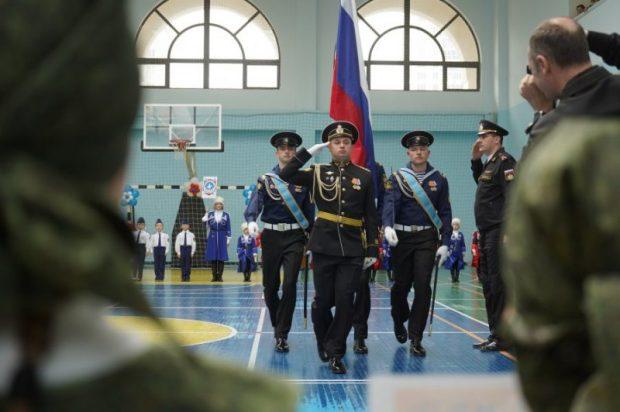 В Севастополе подвели итоги городского конкурса строя и песни «Весна Победы»