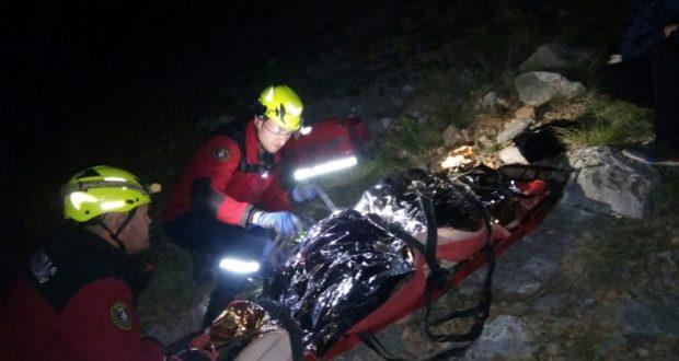Пожилую женщину пришлось эвакуировать со склона Аянского водохранилища. Что она там делала?