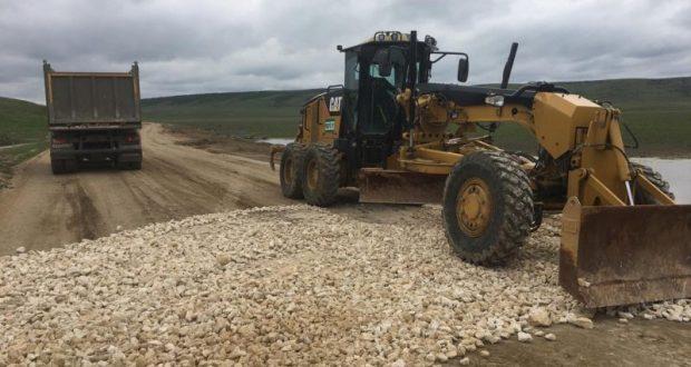 Отремонтирована дорога к селу Курортное, на востоке Крыма