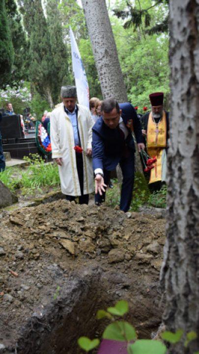 В Ялте перезахоронили останки воинов Великой Отечественной войны