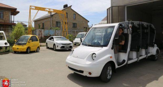 В Крыму хотят развивать электротранспорт