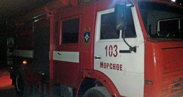 В Крыму за прошедшие сутки произошли четыре пожара