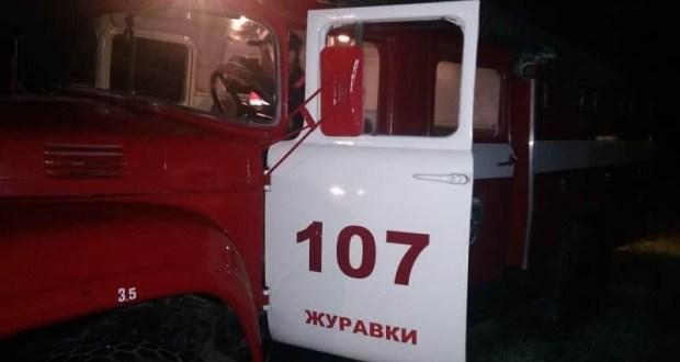 Ночной пожар в Кировском районе Крыма. Сгорел дом