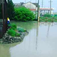 Дождь подтопил Феодосию. Ливневки с потоками воды не справились