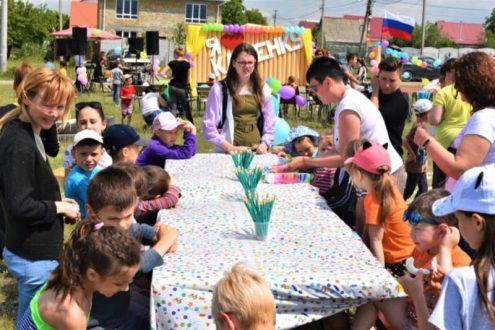 День соседей для жителей симферопольского массива Каменка