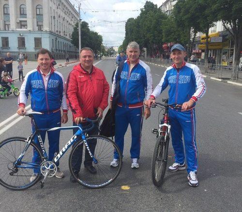 Велопробег в Симферополе - 400 участников и пять кругов в центре города