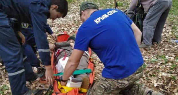 Эффект парных случаев районе горы Демерджи. На помощь туристам пришел «КРЫМ-СПАС»