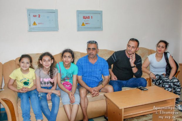 """В евпаторийском санатории """"Морской"""" проходят реабилитацию дети из Сирии"""