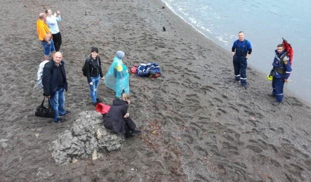 Инцидент на «тропе Голицына» в Крыму. Пострадавшую пришлось эвакуировать катером