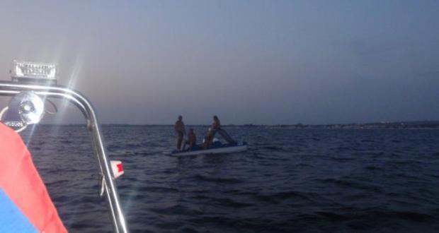 За прошедшие сутки в Крыму спасено 4 человека на воде